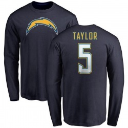 Youth Tyrod Taylor Los Angeles Chargers Name & Number T-Shirt - Navy -